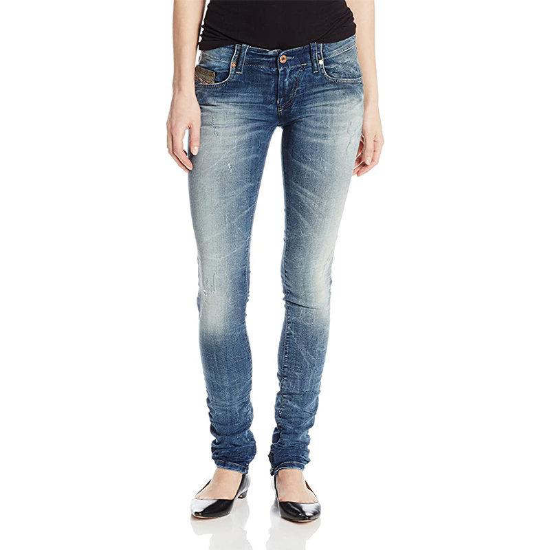 diesel grupee ne 0606d womens denim jogg jeans casual pant slim skinny trouser