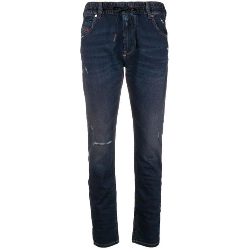 diesel krailey r ne 0699w womens denim jogg jeans regular slim sweat pant italy