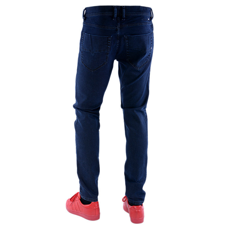 diesel tepphar 084lc mens denim jeans lyocell stretch slim fit carrot stretch