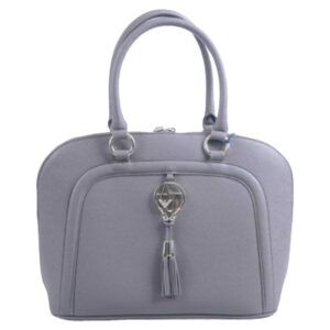armani jeans 922517 womens handbag zipped ladies party casual handle bag grey