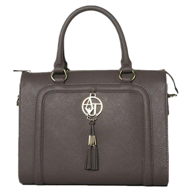 armani jeans 922518 womens handbag ladies party casual shoulder handle bag grey