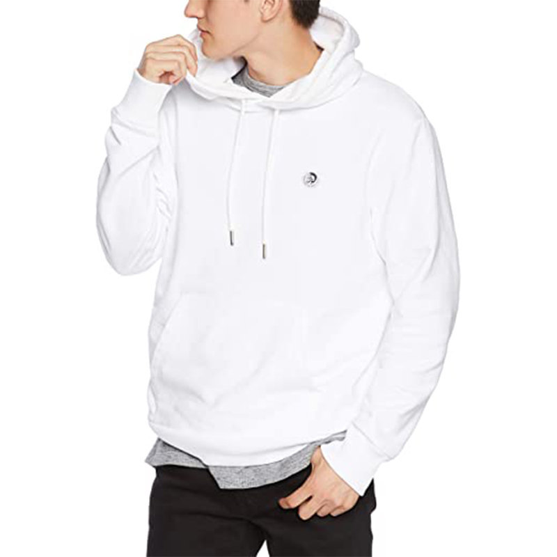 diesel s after felpa mens hoodie pullover hooded sweatshirt lounge wear white xs