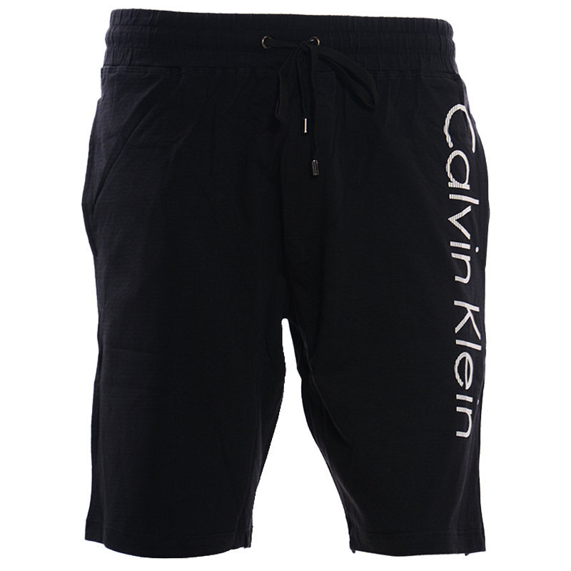 calvin klein mens loungewear shorts casual black relax sleepwear cotton short