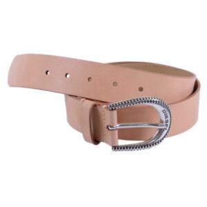 diesel b texa womens genuine cow leather belt buckle waist casual 85 cm brown