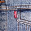 levis mens denim jacket faded blue vintage boyfriend cotton trucker regular fit
