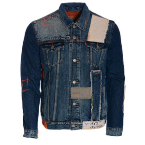 levis t1714 mens denim jacket regular fit vintage cotton blue boyfriend a grade