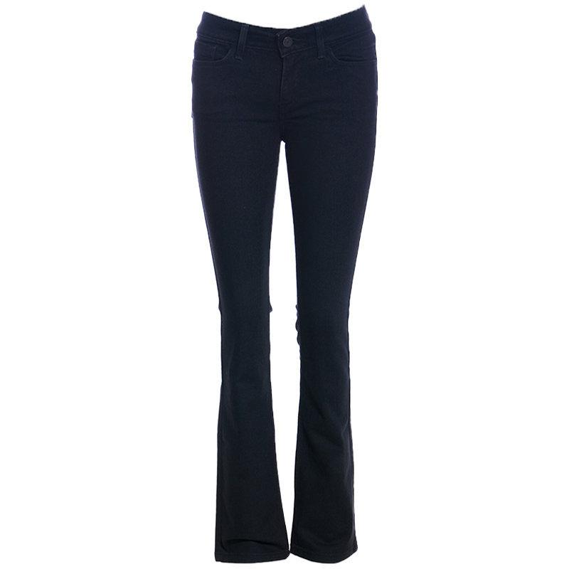levis womens denim jeans demi casual legging mini boot plain stretchable black