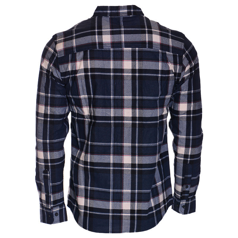 mens check shirts 100% cotton long sleeve soft brushed flannel lumberjack shirts