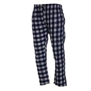 new mens pyjama bottom cotton woven check pyjama sleeping pjs blue bottom pants