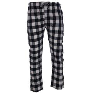 new mens pyjama bottom cotton woven check pyjama sleeping pjs black bottom pants