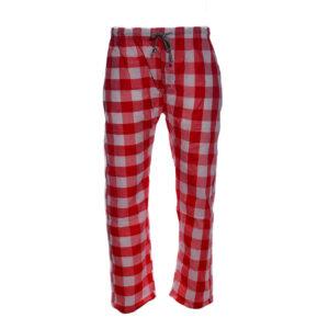 new mens pyjama bottom cotton woven check pyjama sleeping pjs red bottom pants