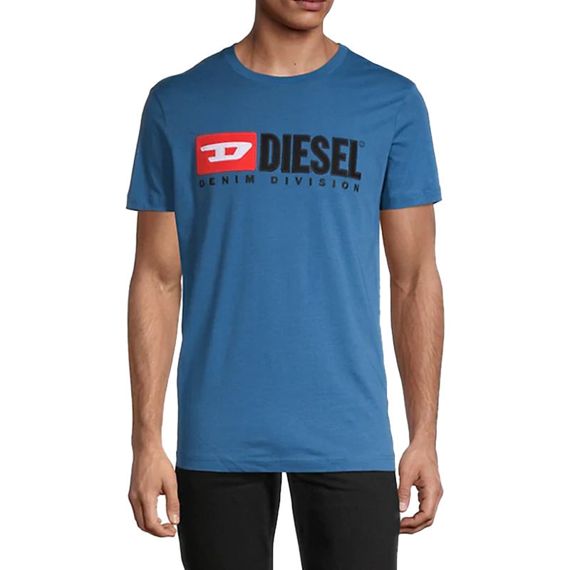 diesel t diego division mens t shirt short sleeve tee casual cotton summer top