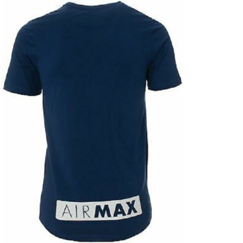 nike air max mens t shirt short sleeve crew neck regular fit casual cotton tee