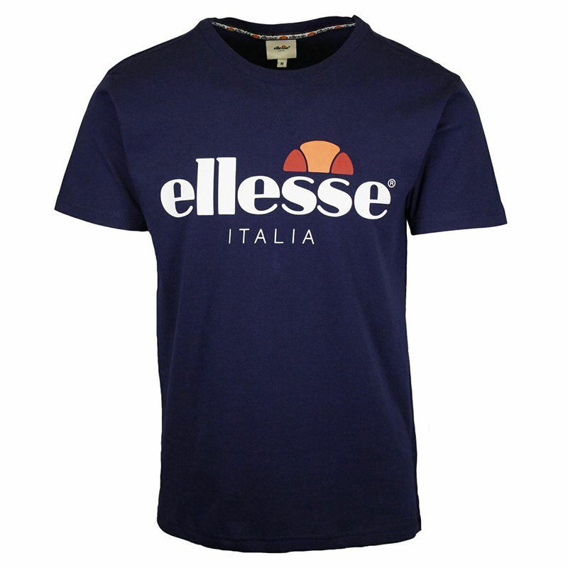 ellesse emilien tmc 7 mens t-shirt crew neck summer sports casual tee cotton