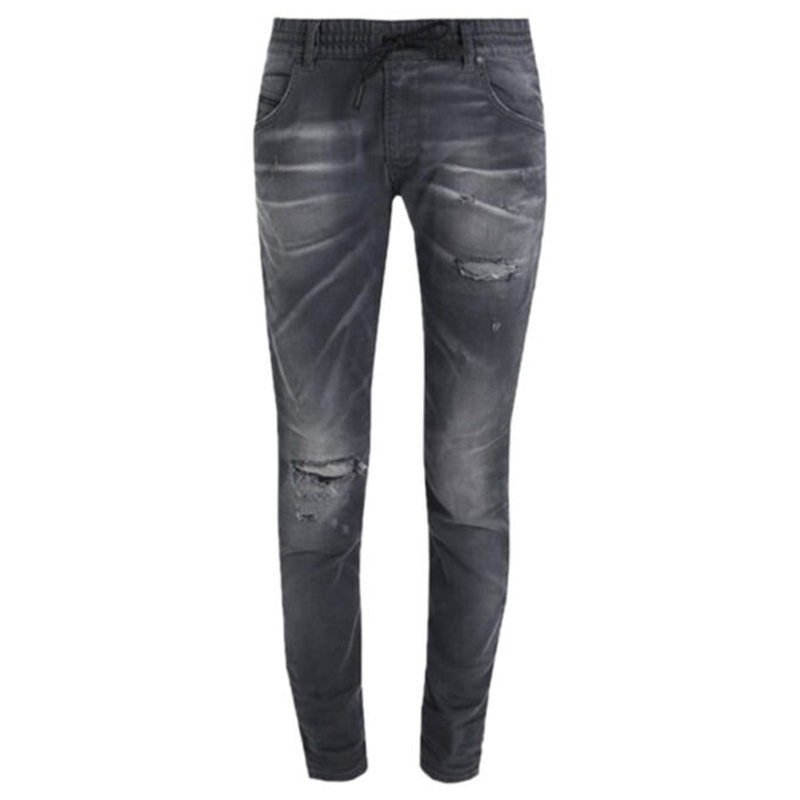 diesel krailey r ne 0685q womens denim sweat jogg jeans slim fit distressed fade
