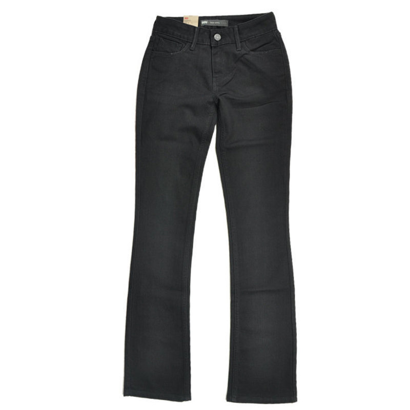 levis womens denim jeans super skinny mini boot demi casual stretchable black