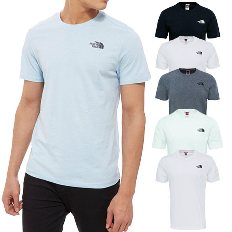the north face redbox mens t shirt casual gym cotton tee tnf t-shirt tops summer