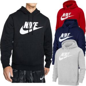 nike bv2973 mens hoodie casual sportswear club hooded top graphic men sweatshirt