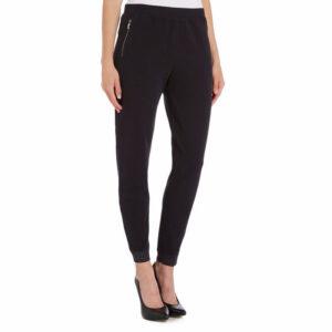 armani 6x5p80 womens trouser casual gym sport pant fleece glitter cotton joggers