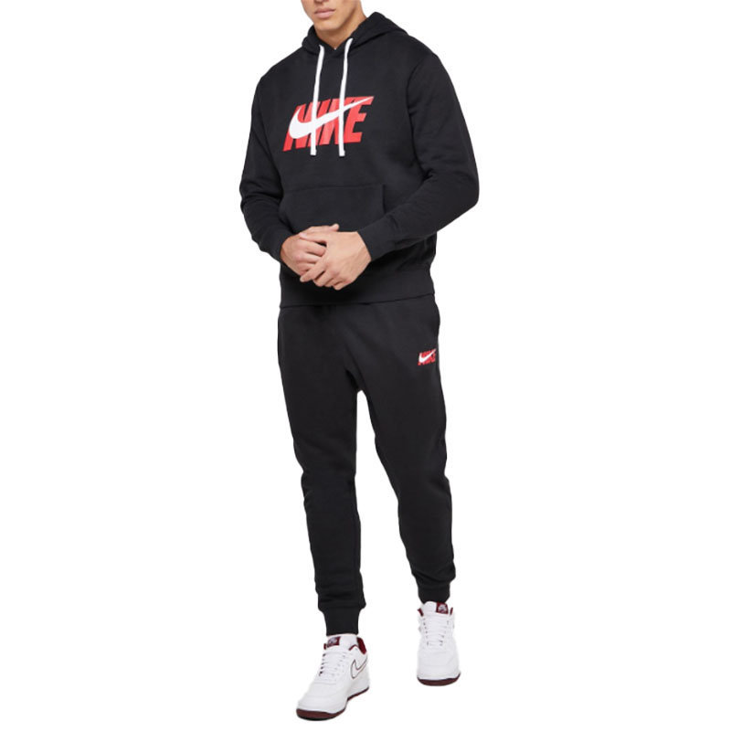 mens tracksuit set nike ci9591 jogging bottom pullover hoodie tops fleece jogger
