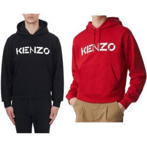kenzo 5sw300 mens hoodie jumper pullover hooded sweatshirt letter print men top