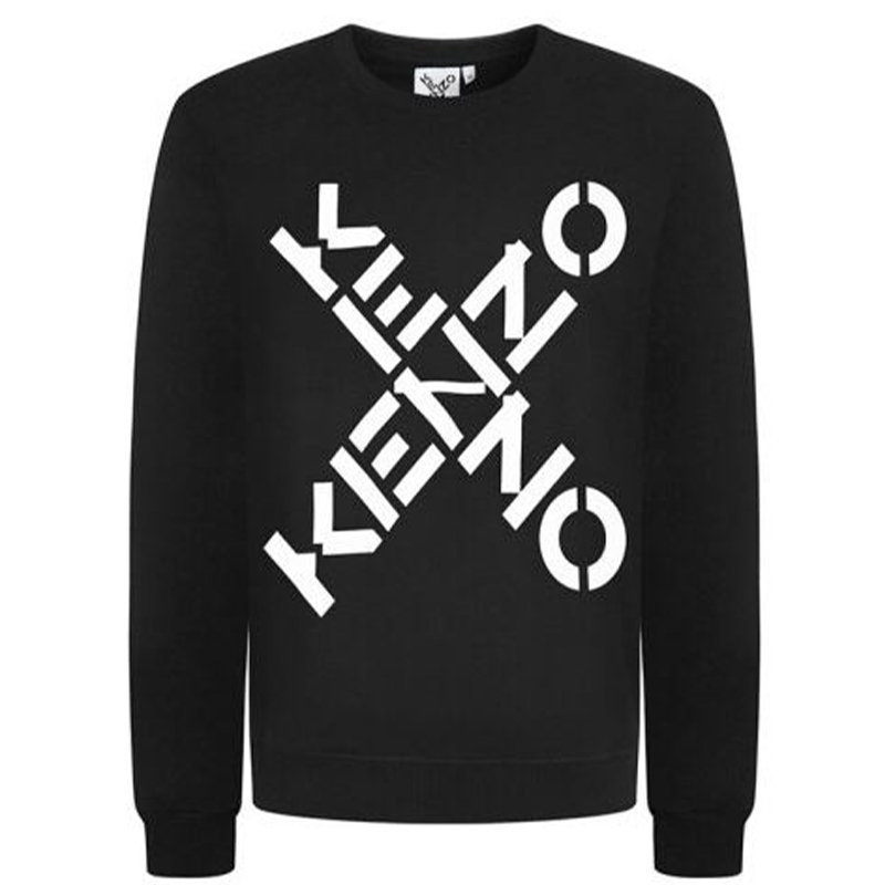 kenzo 5sw521 mens x logo sweatshirt pullover jumper letter print men top sweat