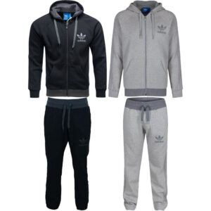 adidas spo mens originals  hoodie jogger full tracksuit fleece size s m l xl