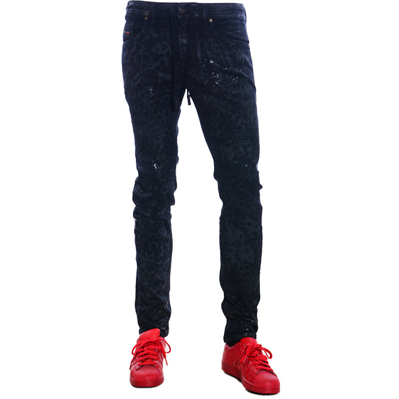 diesel thommer 069cq mens sweat jogg jeans stretch slim fit relax casual pants