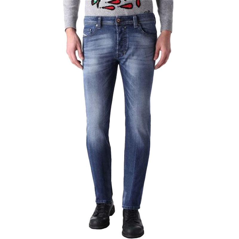 diesel safado 0848c mens denim jeans casual stretch regular slim straight pants