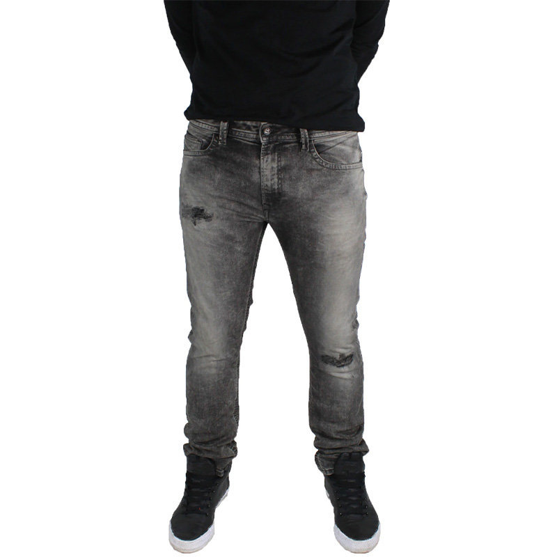 diesel thavar 0858m mens denim jeans slim fit skinny faded trouser pant