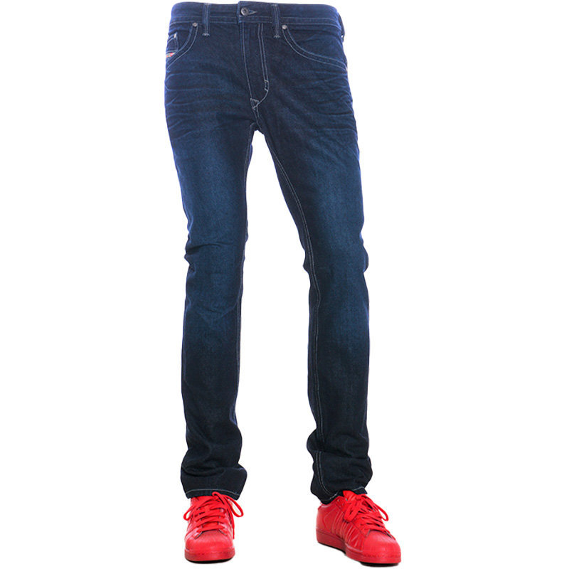 diesel thavar orz32 mens denim jeans slim fit skinny faded trouser pant