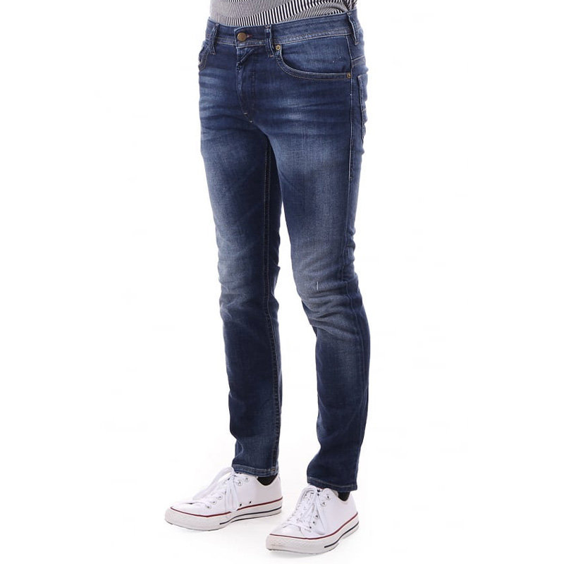diesel thommer 084gr mens denim jeans stretch casual slim fit skinny faded pant