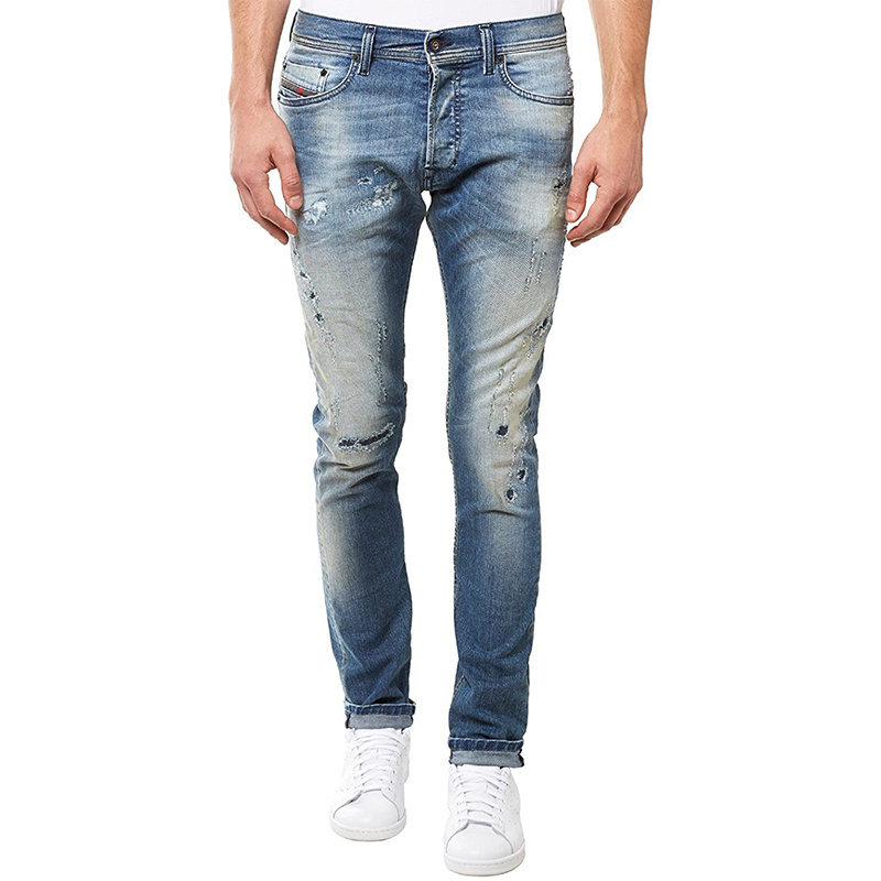 diesel tepphar 0854z mens denim cotton casual stretch jeans slim fit carrot