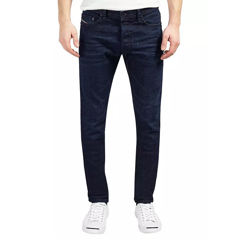 diesel tepphar 0860z mens denim cotton casual stretch slim fit carrot jeans