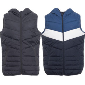 jack and jones mens summer sleeveless body warmer puffer jacket padded hoodie
