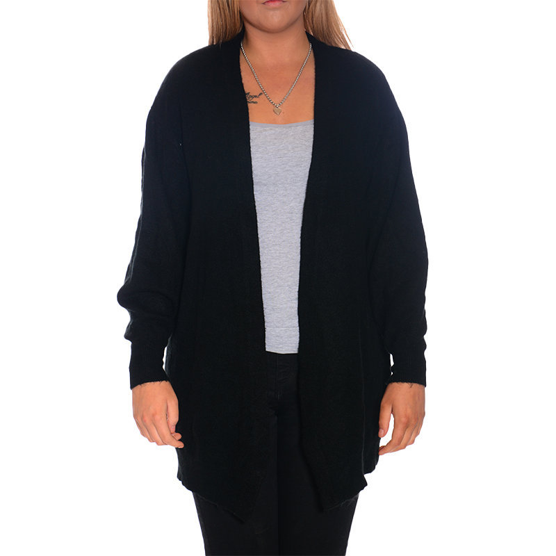 h m womens open cardigan ladies knit casual long sleeve top sweater