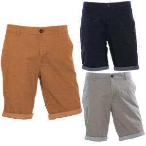 brice mens chino shorts casual cotton knee summer regular bermuda half pants