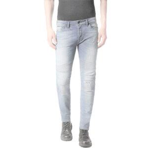 diesel fourk c689l mens denim jeans casual stretch regular slim fit trousers 1 of 8