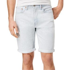 levis 502 mens summer shorts levi denim jeans slim taper cotton straight casual