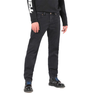diesel larkee 084nk mens denim jeans casual stretch regular tapered trousers 1 of 6