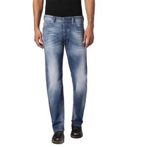 diesel larkee 084qg mens denim jeans casual stretch regular straight trousers