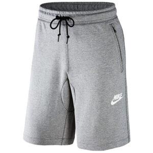 nike mens shorts straight hem drawstring jersey shorts grey s m l xl