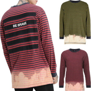 diesel t halo mens shirt crew neck casual cotton long sleeve summer tees 1 of 12