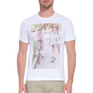 diesel t joe rv 100 mens t-shirt short sleeve ribbed top summer casual white tee 1 of 5